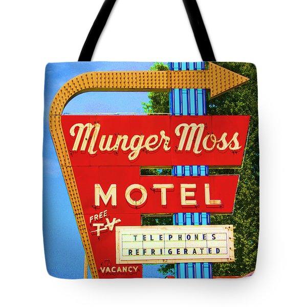 Munger Moss Motel Tote Bag