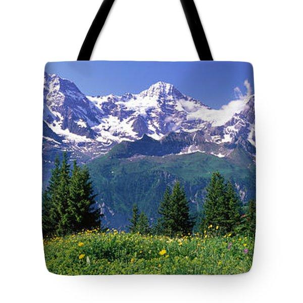 Murren Switzerland Tote Bag