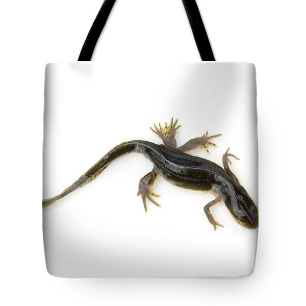 Mutated Eastern Newt Tote Bag