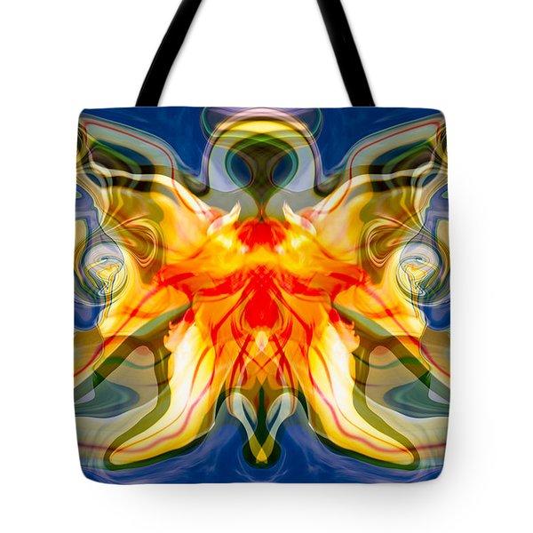 My Angel Tote Bag by Omaste Witkowski