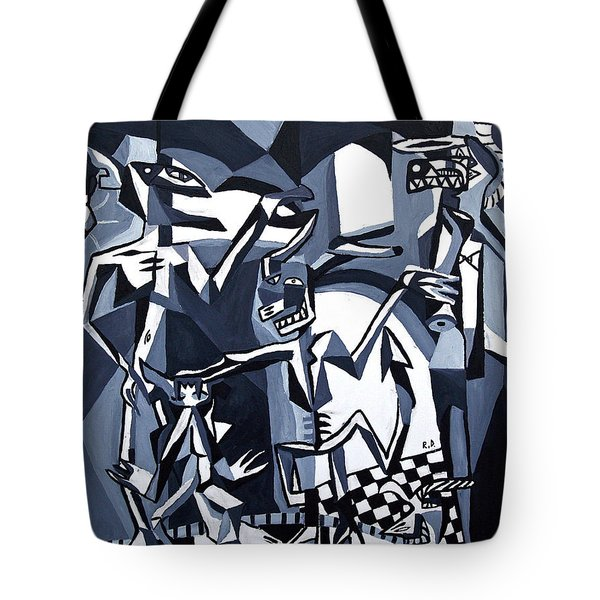 Tote Bag featuring the painting My Inner Demons by Ryan Demaree