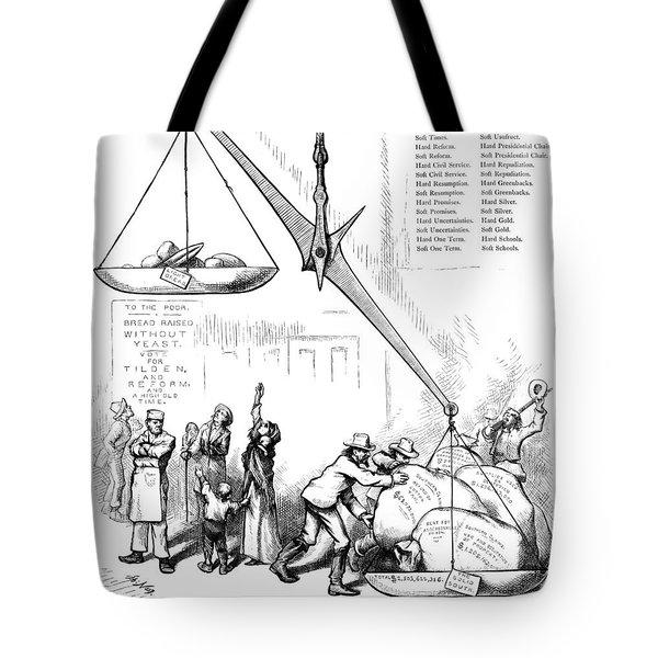 Nast Election, 1876 Tote Bag