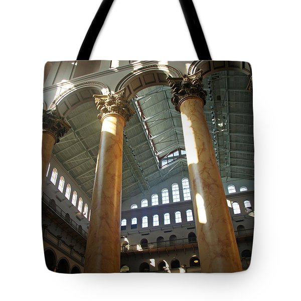 National Building Museum Tote Bag by Cora Wandel