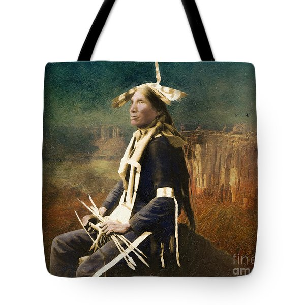 Native Honor Tote Bag by Lianne Schneider
