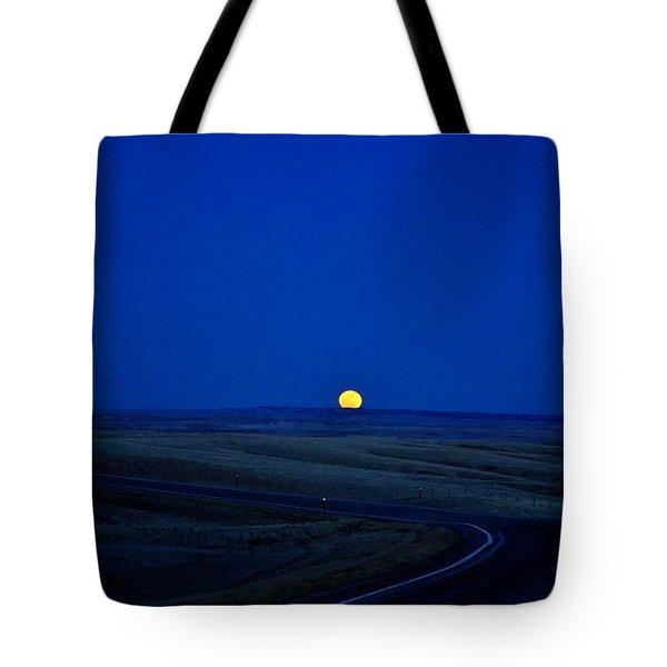 Native Moon Tote Bag