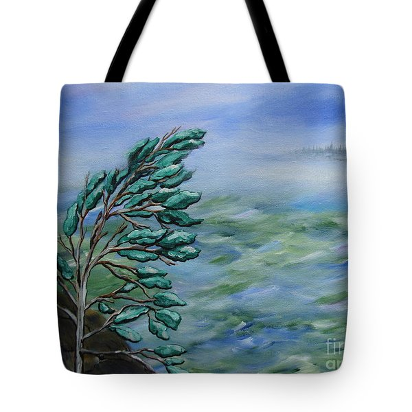 Natures Dance Tote Bag by Beverly Livingstone