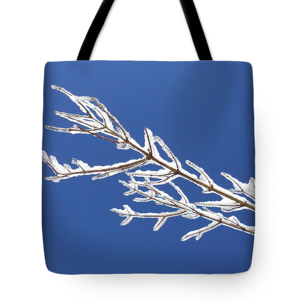 Winter's Icing Tote Bag