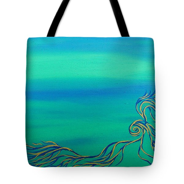 Nerissa Tote Bag by Robert Nickologianis