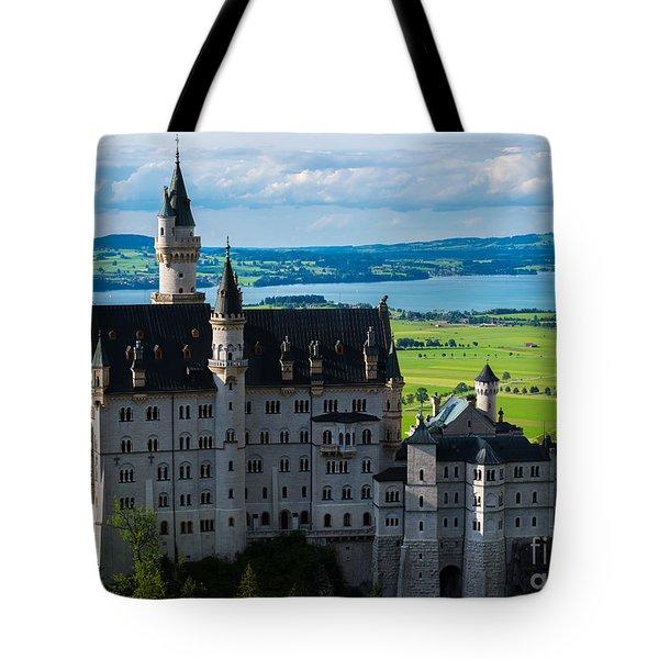 Neuschwanstein Castle - Bavaria - Germany Tote Bag