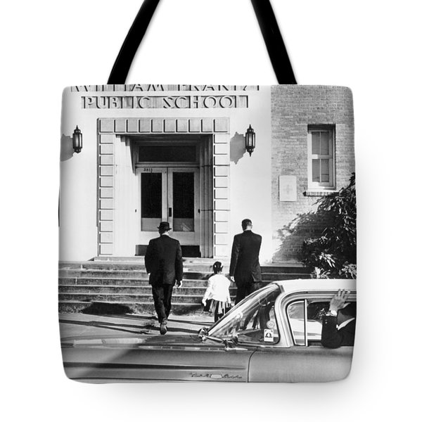 New Orleans School Integration Tote Bag