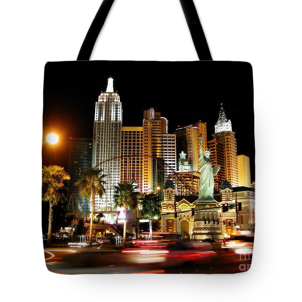 Tote Bag featuring the photograph New York Minute by Stuart Turnbull