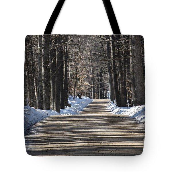 Nh Back Roads Tote Bag