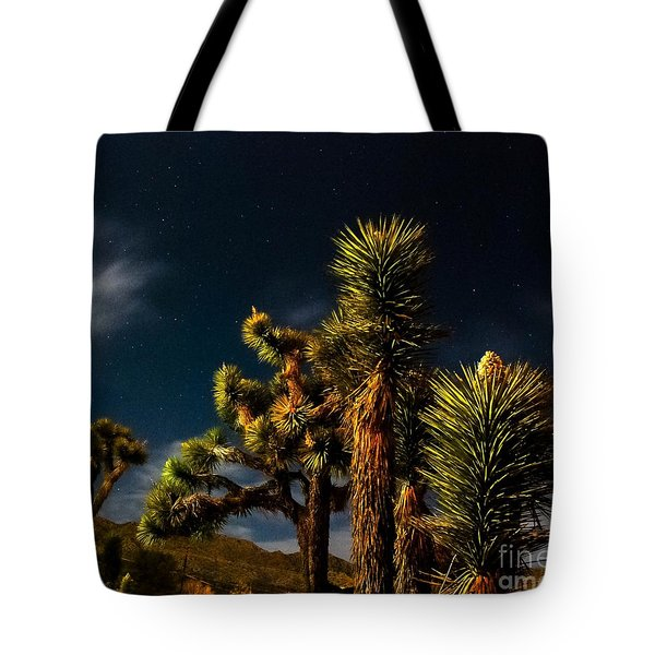 Night Desert Tote Bag