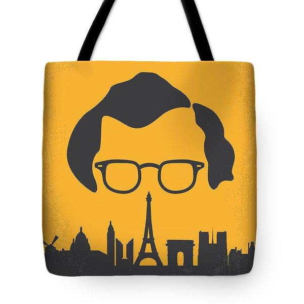 No312 My Manhattan Minimal Movie Poster Tote Bag