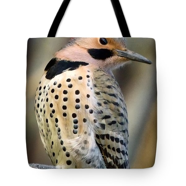 Northern Flicker Tote Bag by Bill Wakeley