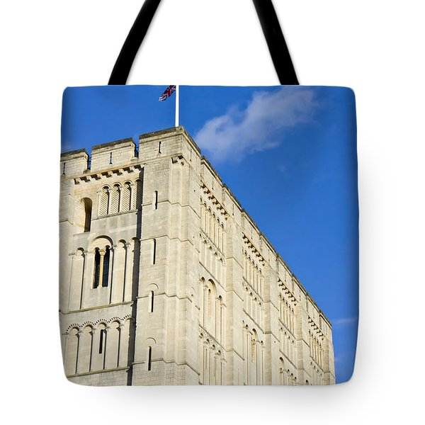 Norwich Castle Tote Bag by Tom Gowanlock
