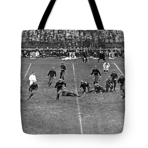 Notre Dame-army Football Game Tote Bag