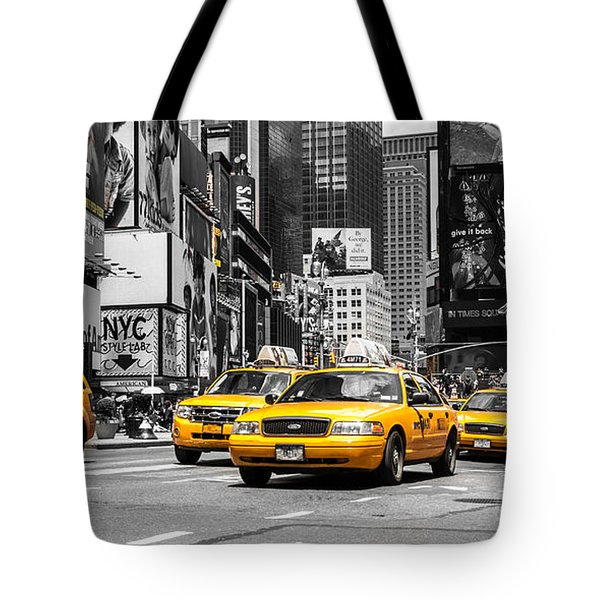 Nyc Yellow Cabs - Ck Tote Bag