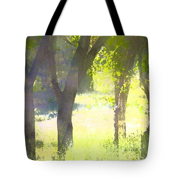 Oaks 25 Tote Bag by Pamela Cooper