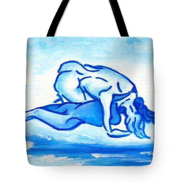 Ocean Of Desire Tote Bag