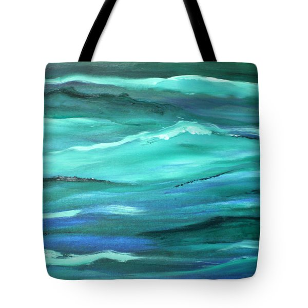 Ocean Swell By V.kelly Tote Bag