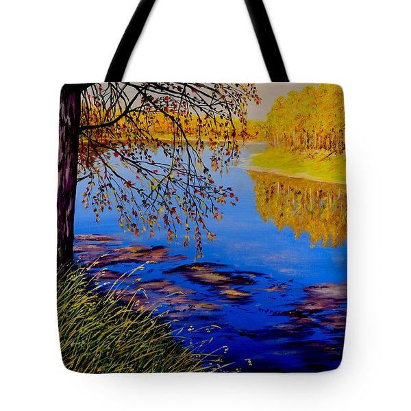 October Afternoon Tote Bag