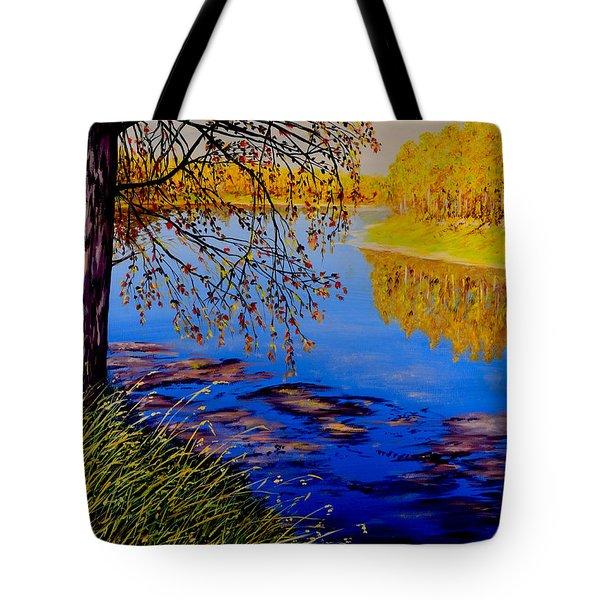 October Afternoon Tote Bag