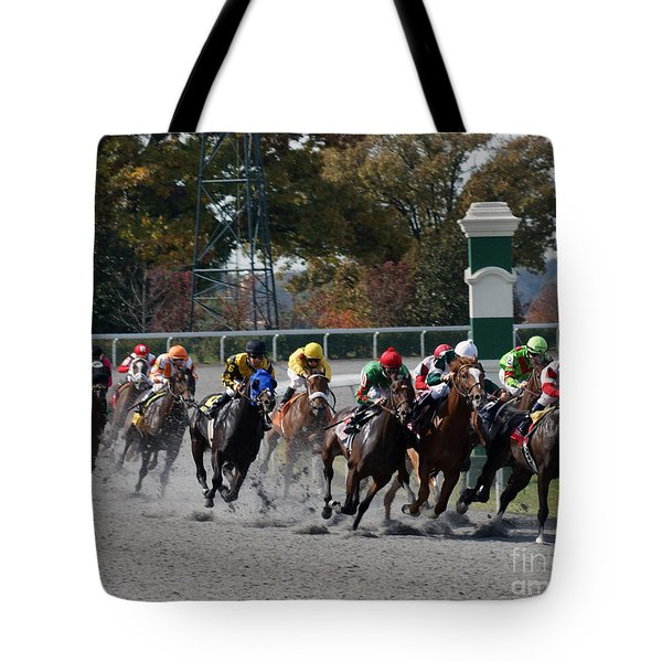 October Tradition Tote Bag by Roger Potts