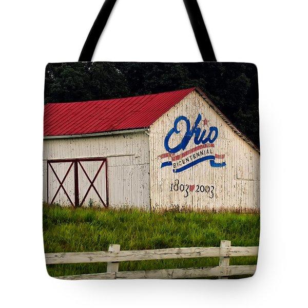 Ohio Bicentennial Barn Tote Bag