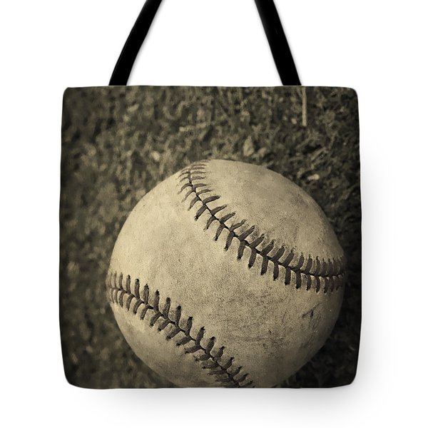 Old Baseball Tote Bag