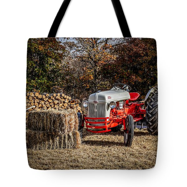 Old Ford Tractor Tote Bag