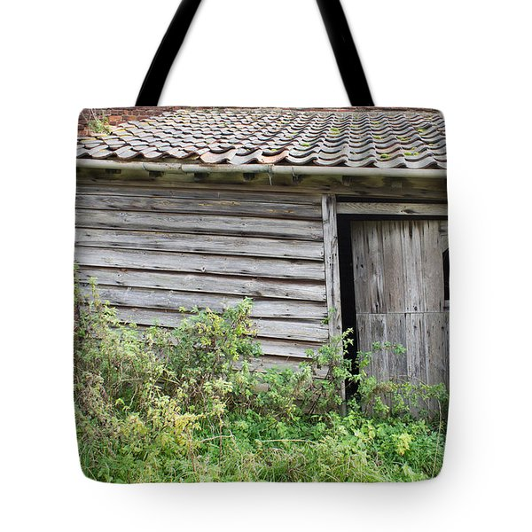 Old Hut Tote Bag by Tom Gowanlock