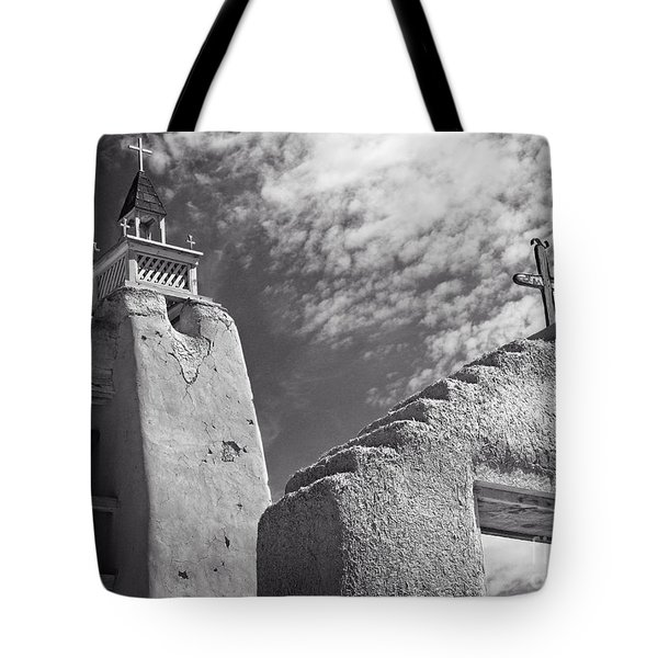 Old Mission Crosses Tote Bag