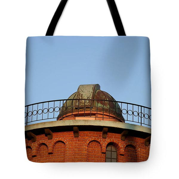 Tote Bag featuring the photograph Old Observatory by Henrik Lehnerer