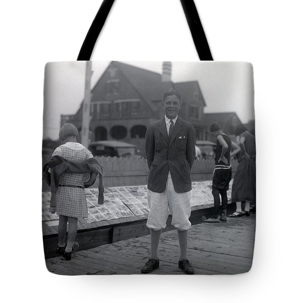 Old Time Photographer Tote Bag