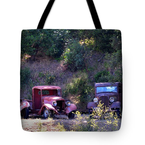 Oldtimers Rendezvous Tote Bag by Lynn Bauer