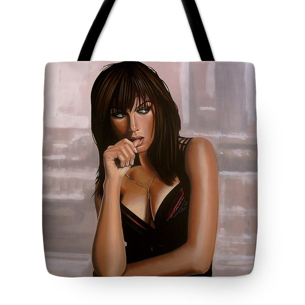 Olga Kurylenko Tote Bag by Paul Meijering