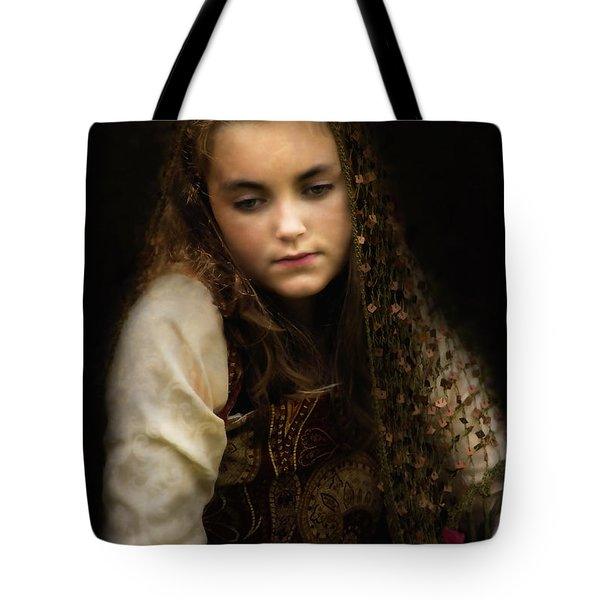 Tote Bag featuring the photograph Olivia by John Rivera