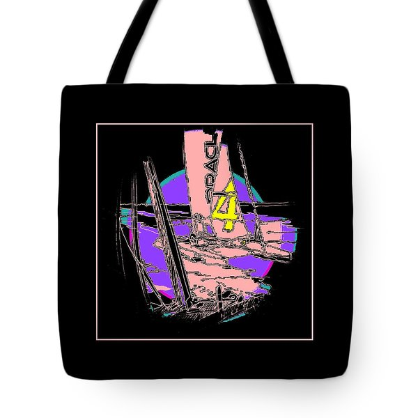 On The Bay 1 Tote Bag by Andrew Drozdowicz
