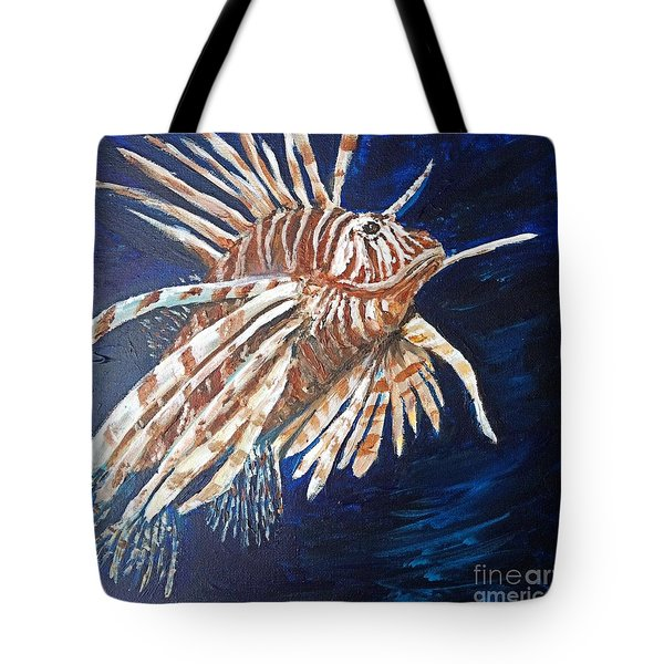 On The Prowl Tote Bag by Vonda Lawson-Rosa
