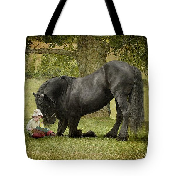 Once Upon A Time Tote Bag by Fran J Scott