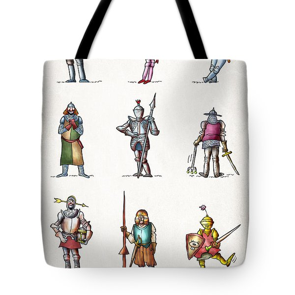 One Knight Stands Tote Bag