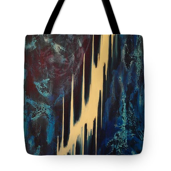 Only One Way Tote Bag by Wayne Cantrell