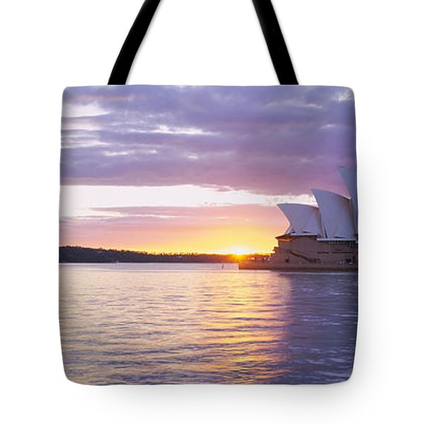 Opera House At The Waterfront, Sydney Tote Bag by Panoramic Images
