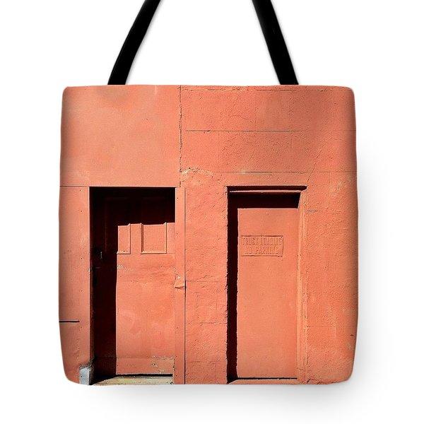 Orange Wall Tote Bag