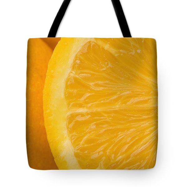Oranges Tote Bag by Darren Greenwood