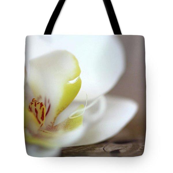 Orchid Tote Bag by AR Annahita