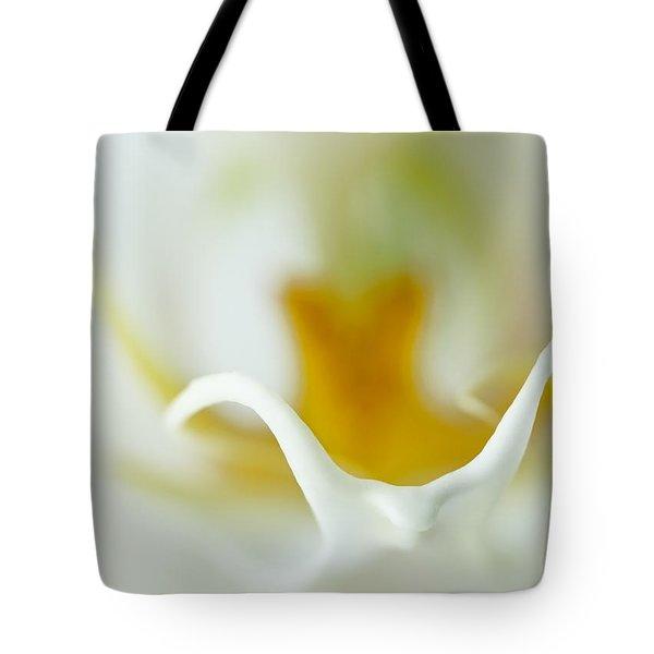 Moth Orchid Macro Tote Bag