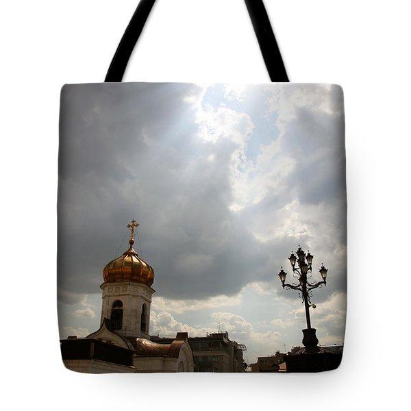 Orthodox Church  Tote Bag by Lali Kacharava