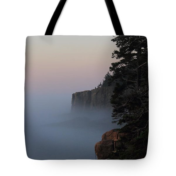 Otter Cliffs 2 Tote Bag